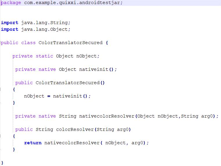 Android - Quixxi Security